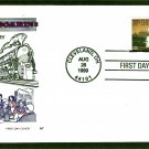 Streamliner 20th Century Limited J3A Locomotive USPS, HF, First Issue FDC USA