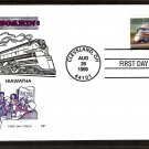 Streamliner Hiawatha, Steam Locomotive Railroad, HF, First Day of Issue FDC USA