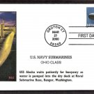 U. S. Navy Submarines, Ohio Class USS Alaska (SSBN-732) , First Issue USA