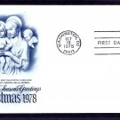 USPS Christmas Stamp 1978, Madonna and Child with Cherubim, by Andrea della Robbia, First Issue USA