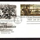 Bicentennial, Battle of Kings Mountain Postal Card, First Issue USA