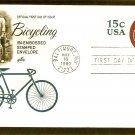 Highwheeler Bicycle, Bicycling, Embossed  First Issue USA