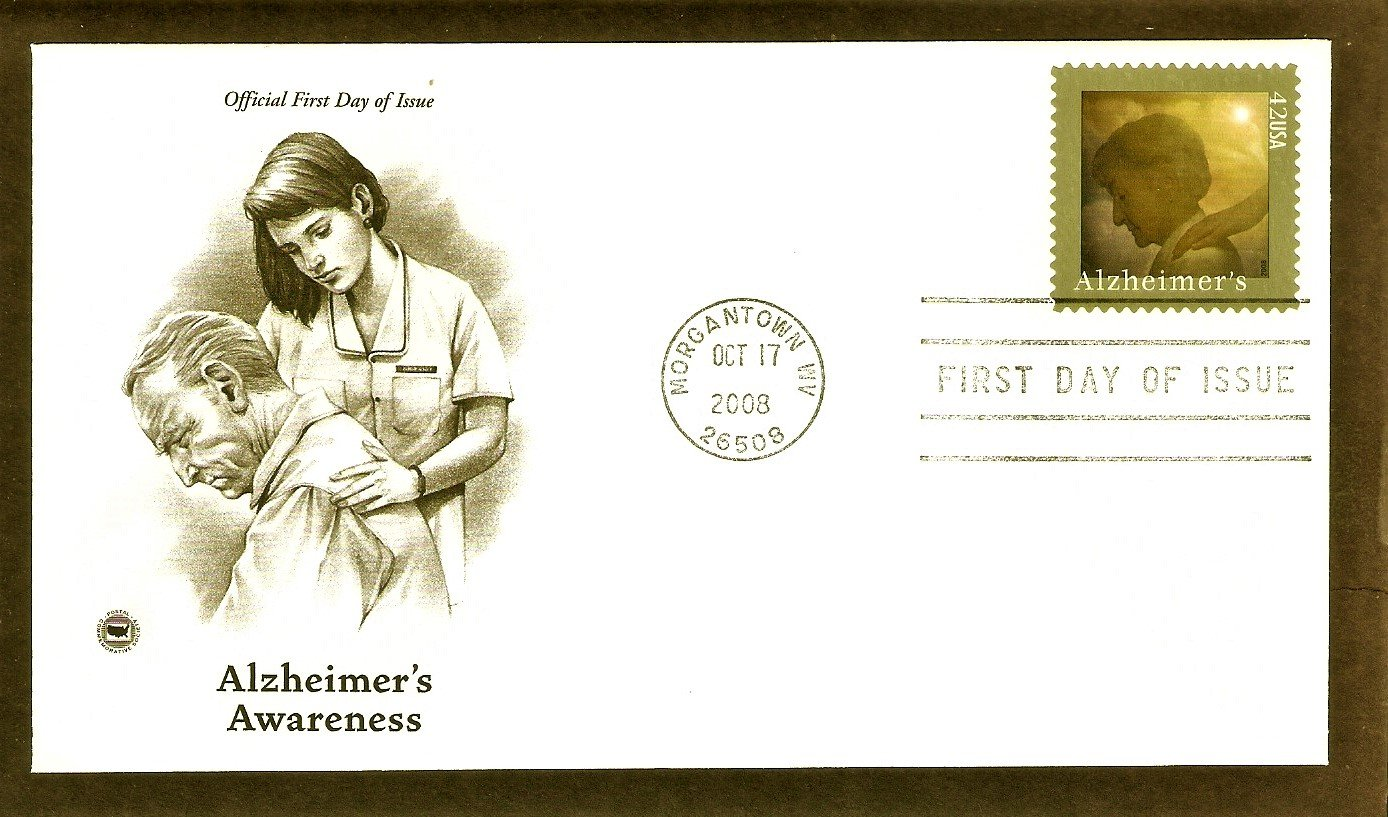 Alzheimer's Awareness, Importance of Caregivers to Alzheimer�s Patients, PCS, 2008 First Issue USA
