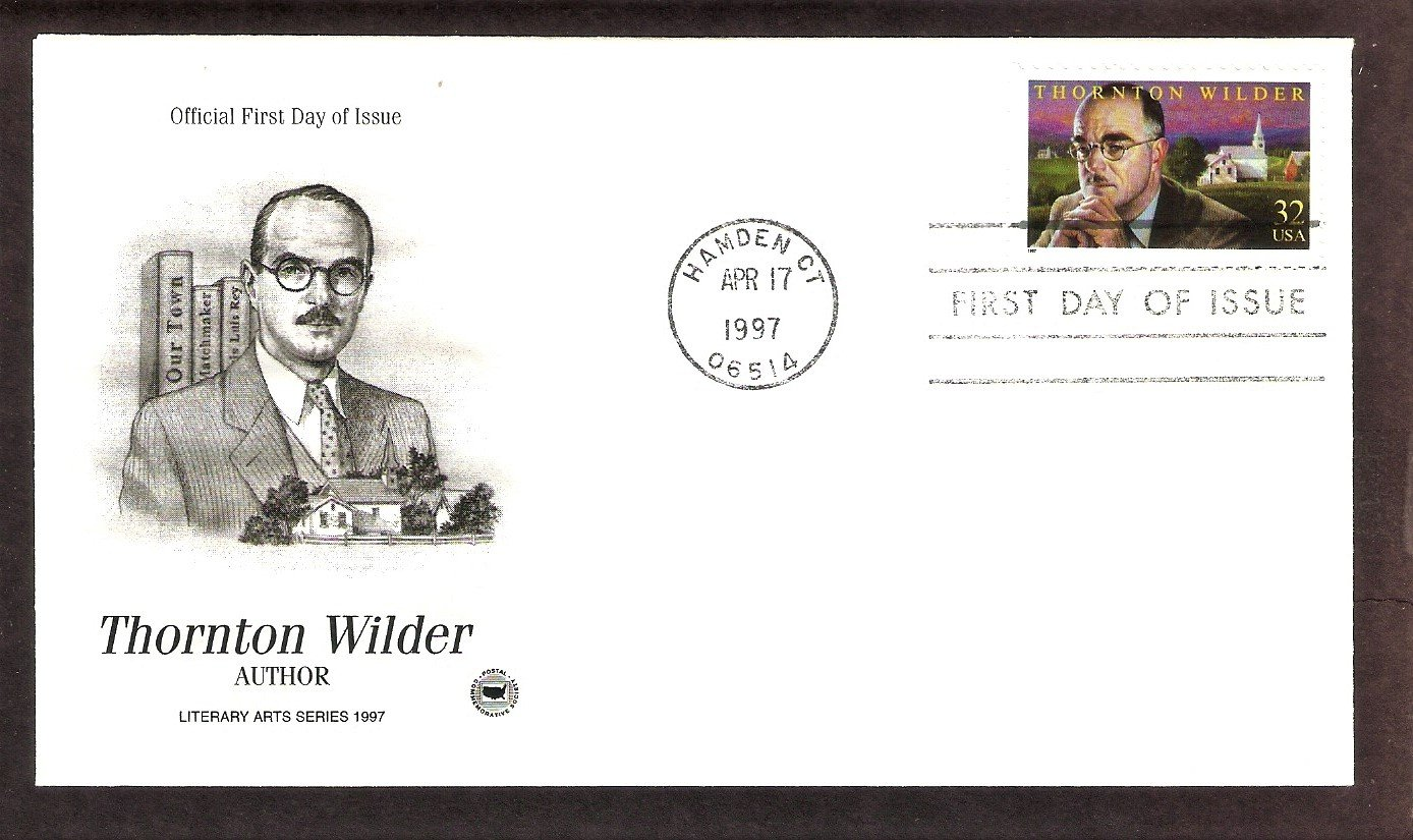 Honoring Author Thornton Wilder, PCS, First Issue USA