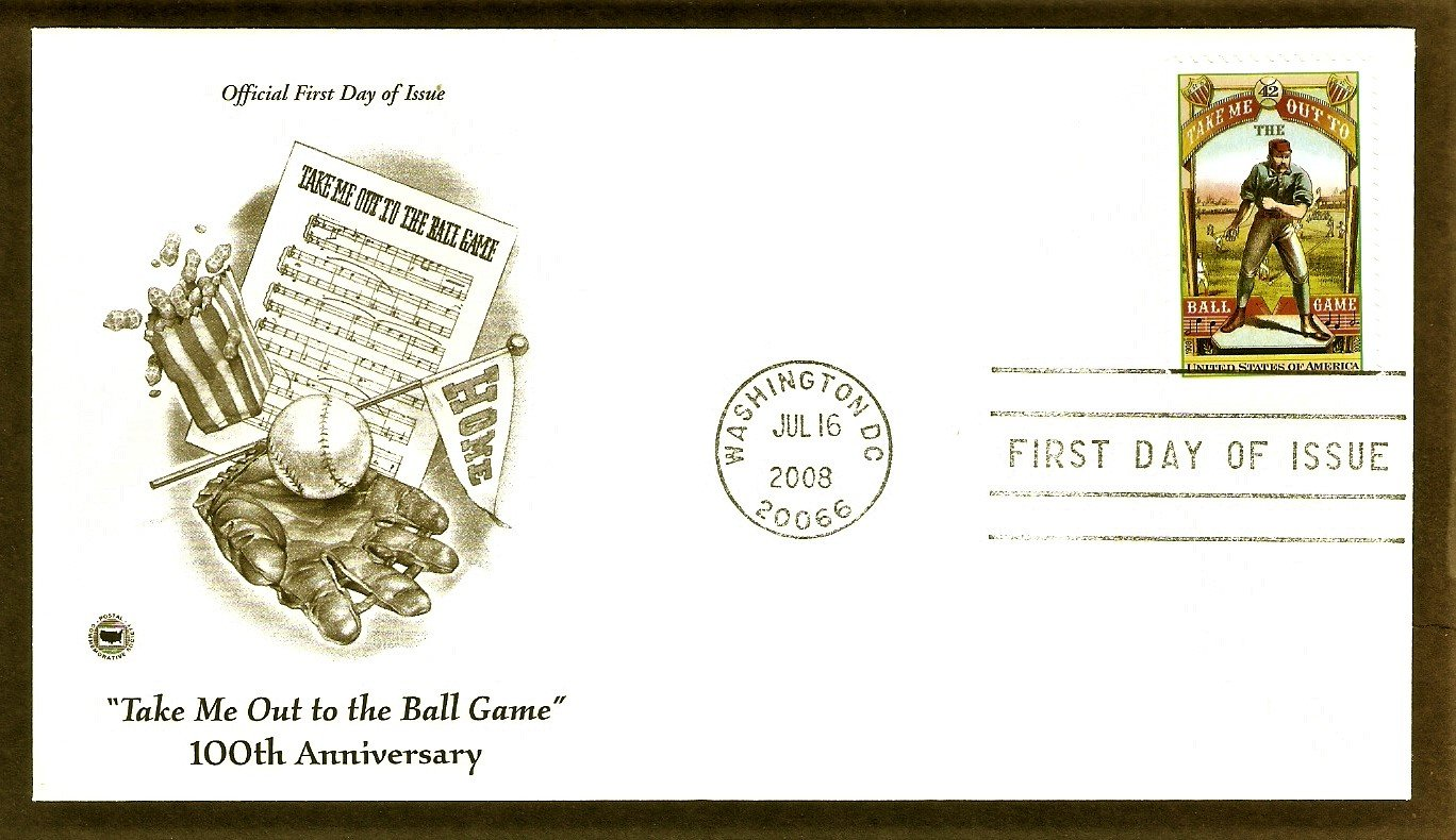 100th Anniversary, Take Me Out to the Ball Game, Baseball, PCS, First Issue USA