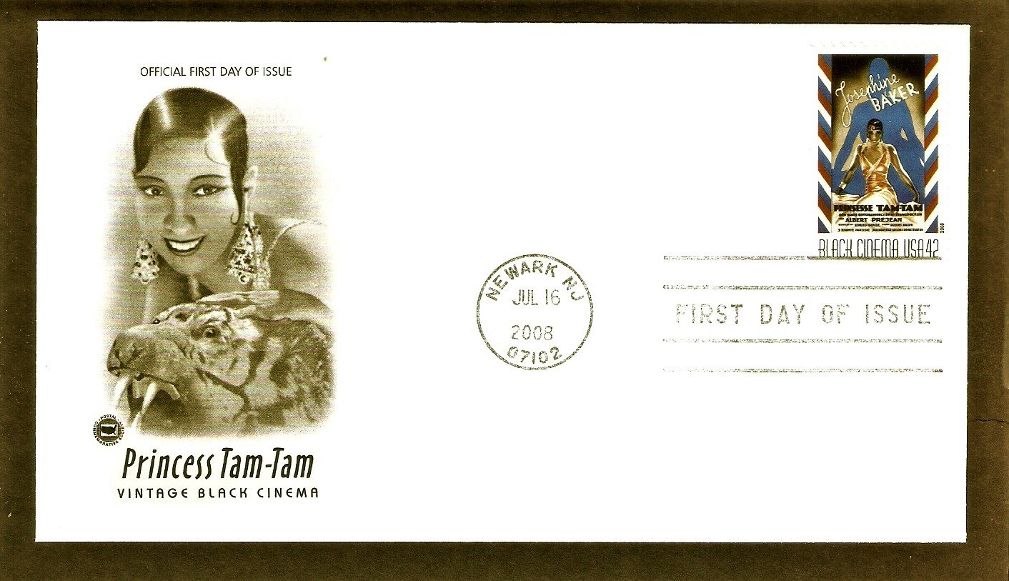Vintage Black Cinema, Princess Tam-Tam, Josephine Baker, PCS, First Issue USA