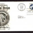 Honoring the Automotive Industry, Wheels of Freedom, 1960, FW, First Issue USA