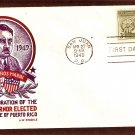Puerto Rico Governor Luis Marin, Staehle, 1949 First Issue USA