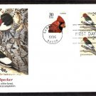 Red-Headed Woodpecker, Melanerpes erythrocephalus, FW, First Issue USA