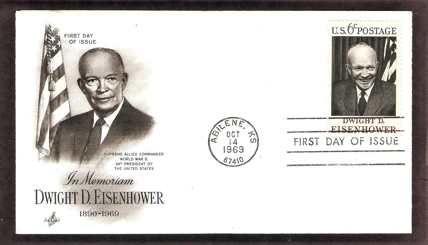 IKE, President Dwight David Eisenhower WWII 5 Star Genera, AC, First Issue USA