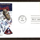 Apollo 8 Space, U.S. First Manned Lunar Orbital Flight, NASA, FW, First Issue USA