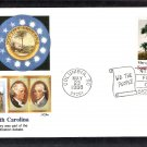 South Carolina Statehood Bicentennial, Palmetto Trees, FW First Issue USA
