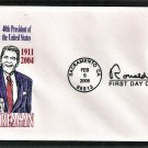Honoring President Ronald Reagan, CC, First Issue, 2005 USPS USA