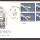 Project Mercury, Space Capsule Orbiting Earth, John Glenn, Cape Canaveral, AC PB First Issue USA