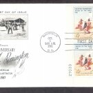 Frederic Remington, American Indian Art, Smoke Signal, AC PB 1961 First Issue FDC USA