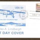 Charles Lindbergh Transatlantic Flight, Aviation, First Issue USA
