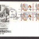Red Cross Civil War Nurse Clara Barton, Nurse with Baby, AC 4 Stamps, First Issue USA