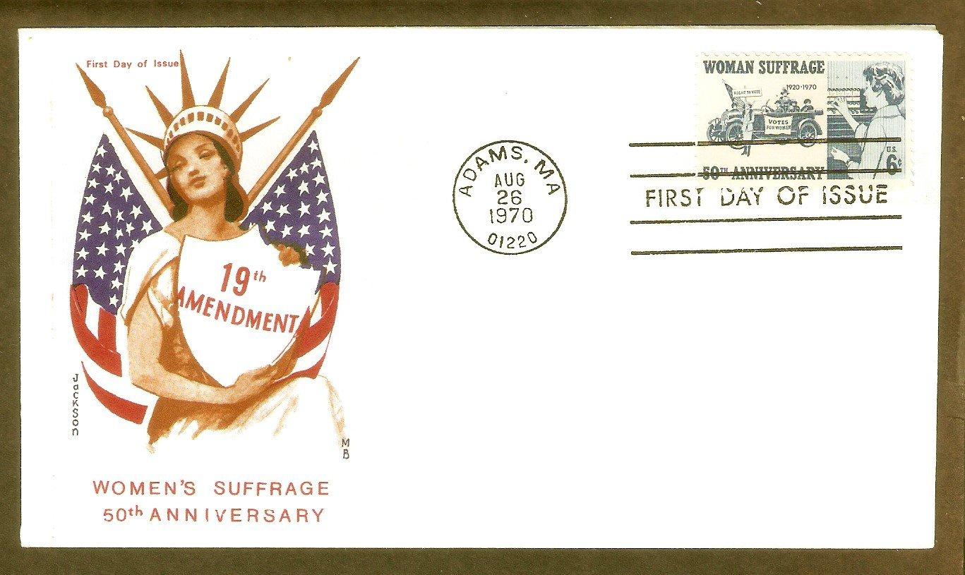 Susan B. Anthony, Woman Suffrage, 19th Amendment, Jackson, First Issue USA