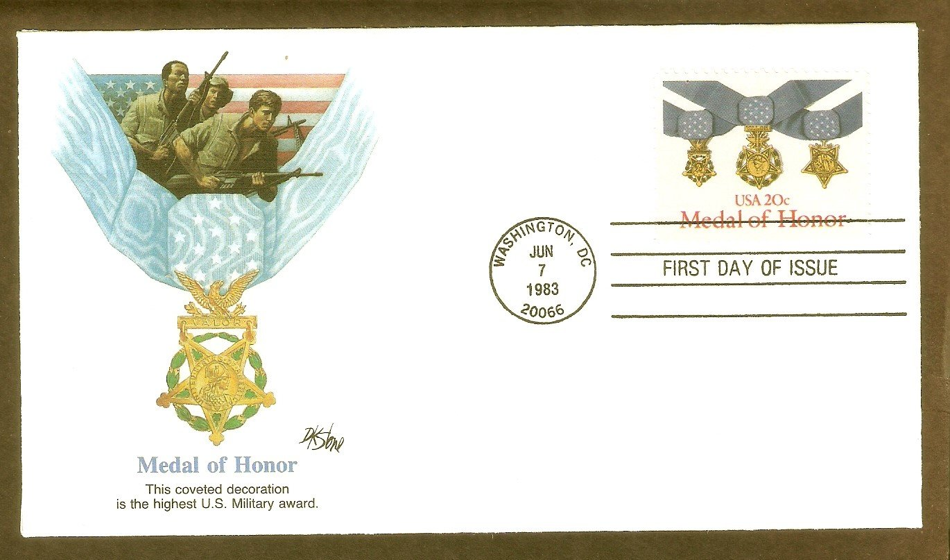 Medal of Honor, Highest U.S. Military Award, FW, First Issue USA