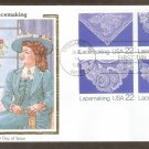 Lacemaking, Squash Blossoms, Floral Design, Floral Lace, Dogwood Blossoms, CS, First Issue USA