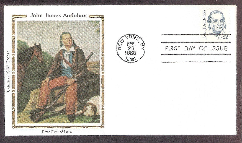 Bird Artist John James Audubon, CS, First Issue USA