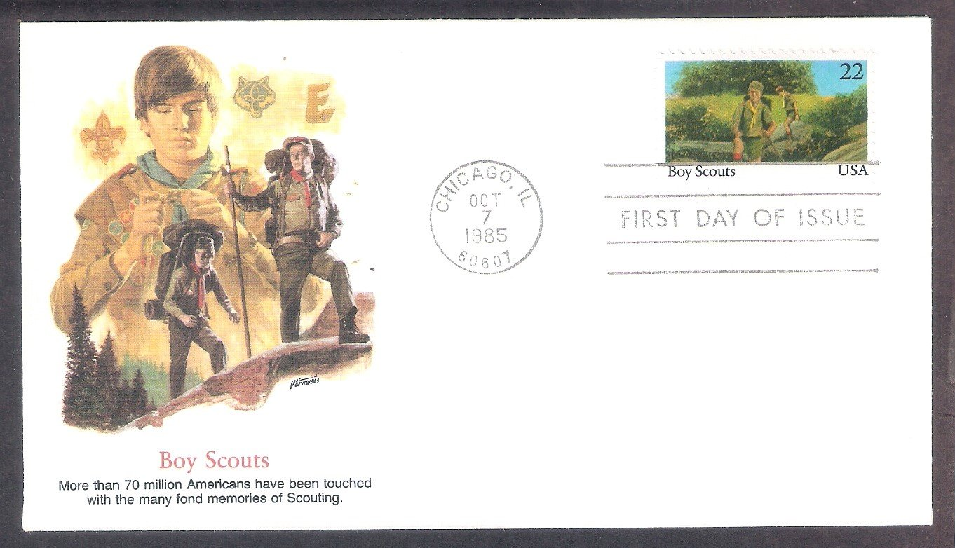 Boy Scouts of America, Scouting, FW, First Issue 1985 USA