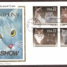 Cats, Siamese, Himalayan, Maine Coon, Persian Shorthair, Abyssinian, Burmese, CS, First Issue USA