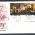 Bicentennial, The Declaration of Independence Painting by John Trumbull AC First Day Cover 1976 USA