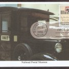 National Postal Museum, Mystic, U.S. Mail Truck, First Issue USA