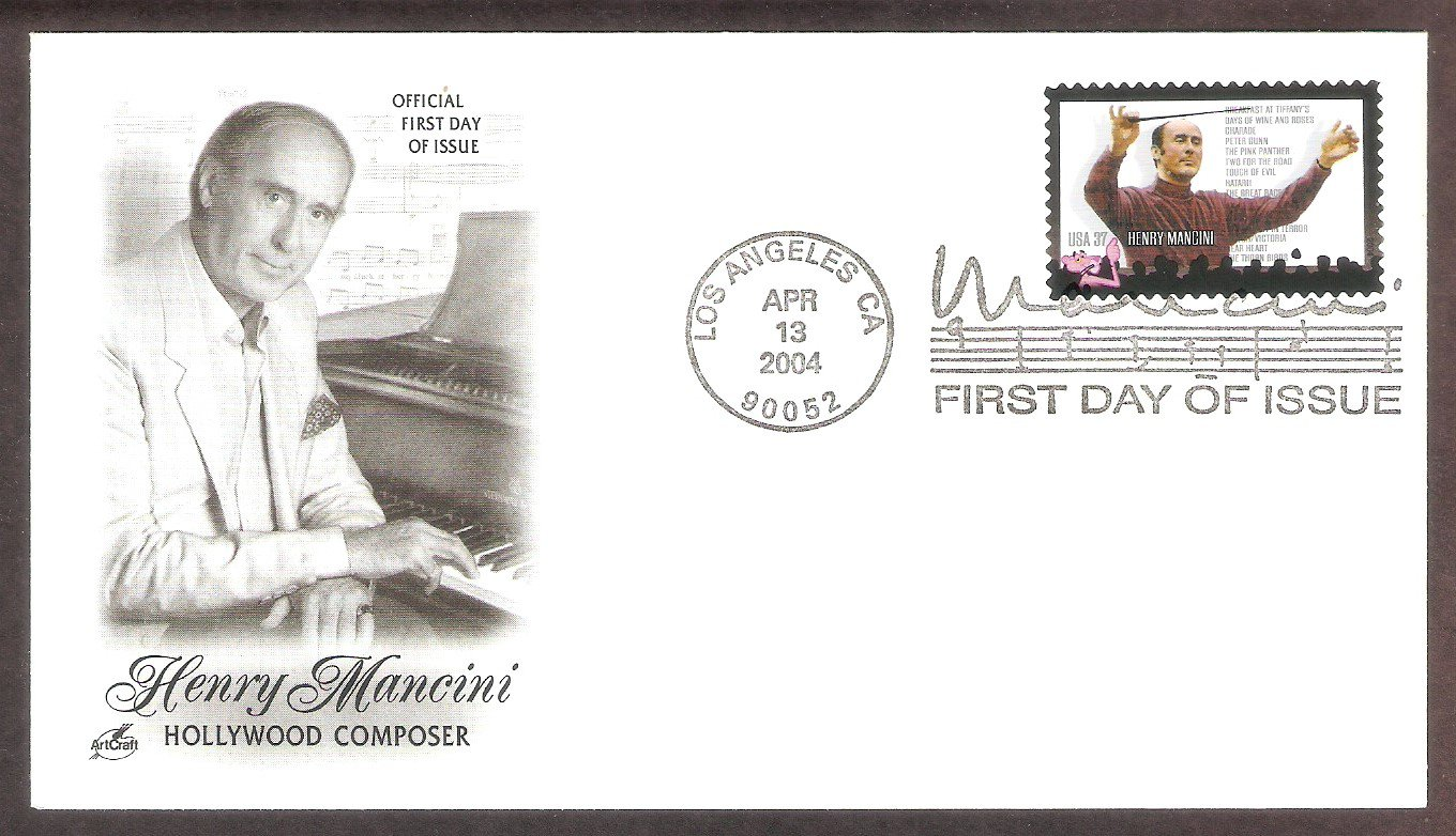 Hollywood Composer Henry Mancini, AC, First Issue USA