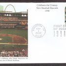 Celebrating the Century, 1990s, New Baseball Records, Mystic, First Issue USA
