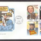 Wizard of Oz, Gone With the Wind, John Wayne,  Gary Cooper, HF, First Issue FDC USA