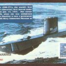 Navy Submarine, Los Angeles Class, USS Nautilus, SSN-571, First Issue FDC USA