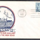 Honoring the Achievements of the U.S. Navy in World War II, 1945 First Issue USA