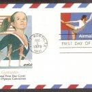 1980 Olympics, Gymnastics, Postal Card, FW, First Issue USA