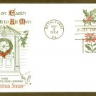 The Third Christmas U.S. USPS Stamps Issued, FW, 1964 First Issue USA