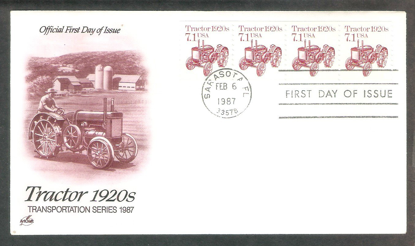 John Deere Tractor 1920s, Model D, AC, First Issue USA