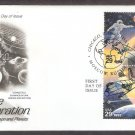 Space, Astronaut, Cosmonaut, NASA Shuttle, Soyuz, Gemini, Spacecraft First Issue, AC, FDC