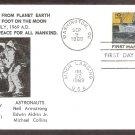 Apollo 11 Space Astronauts, First Man on Moon, NASA 1969, BPESC2,  First Issue USA