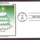 Holiday Knits, Christmas Tree, Christmas Stamp, CS, 2007, First Issue USA