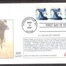 Bighorn Sheep, Glen, 2007 First Issue USA!