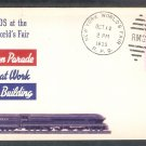 Railroads on Parade 1939 New York World's Fair With Insert Cover USA