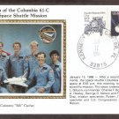 Launch of the Columbia 61-C 24th Space Shuttle Mission, CS, January 12, 1986 USA