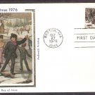 1976 USPS Christmas Stamp, Currier and Ives, Winter Pastime, CS, First Issue USA