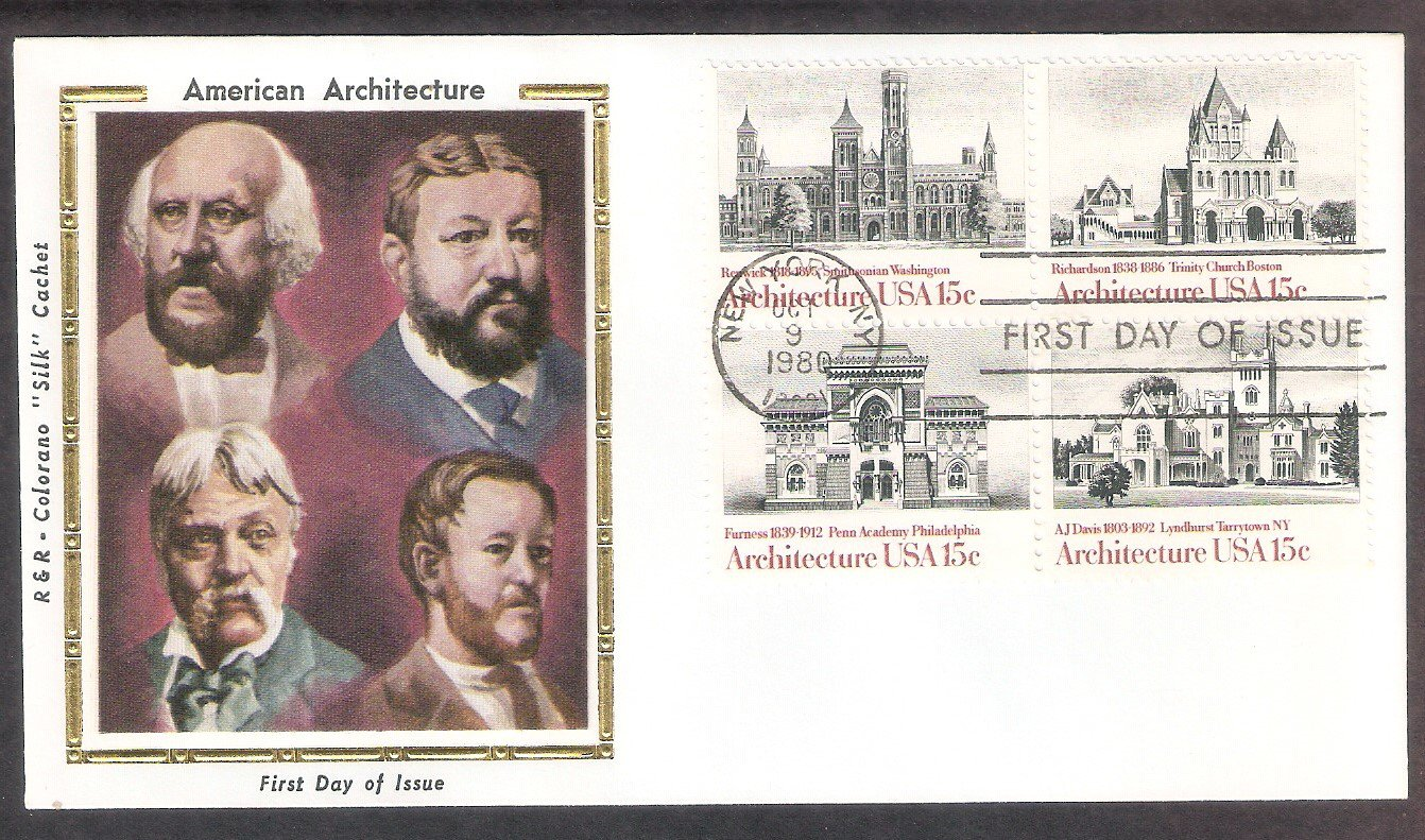 American Architecture, Smithsonian, Lyndhurst, Pennsylvania Academy of Fine Arts, Trinity Church