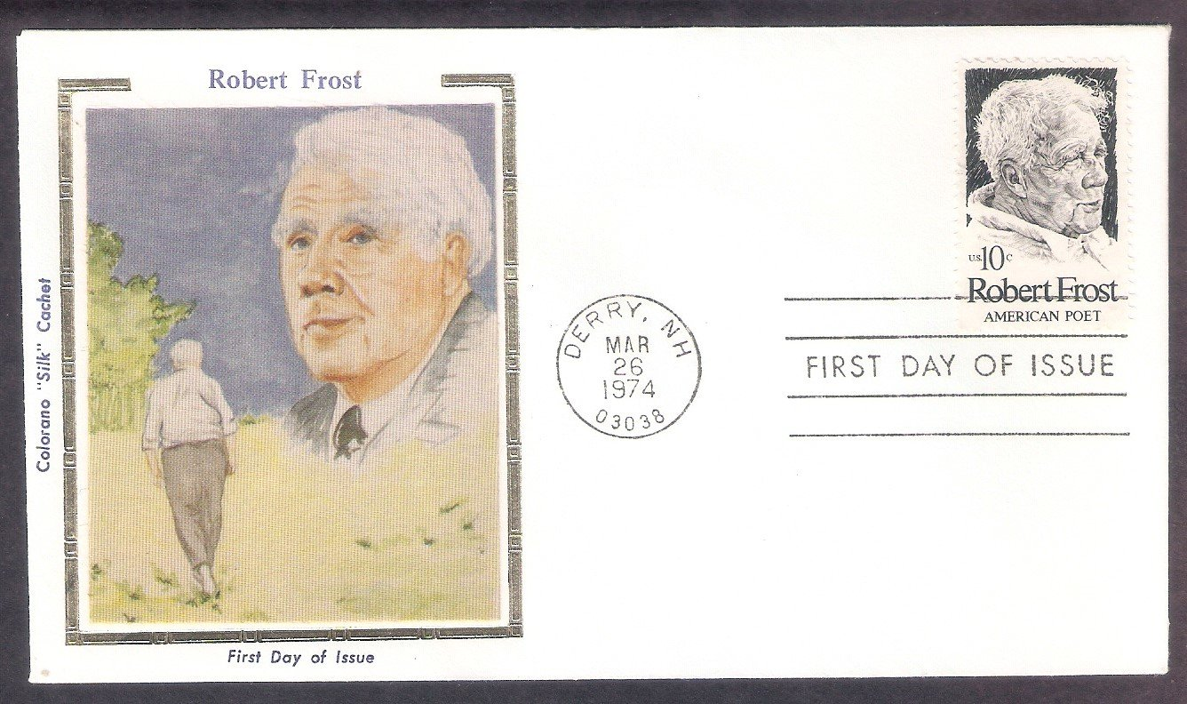 Honoring Robert Frost American Poet, CS, First Issue USA