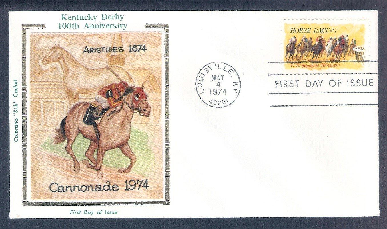 Horse Racing Kentucky Derby 100th Running, Churchill Downs, CS, First Issue USA