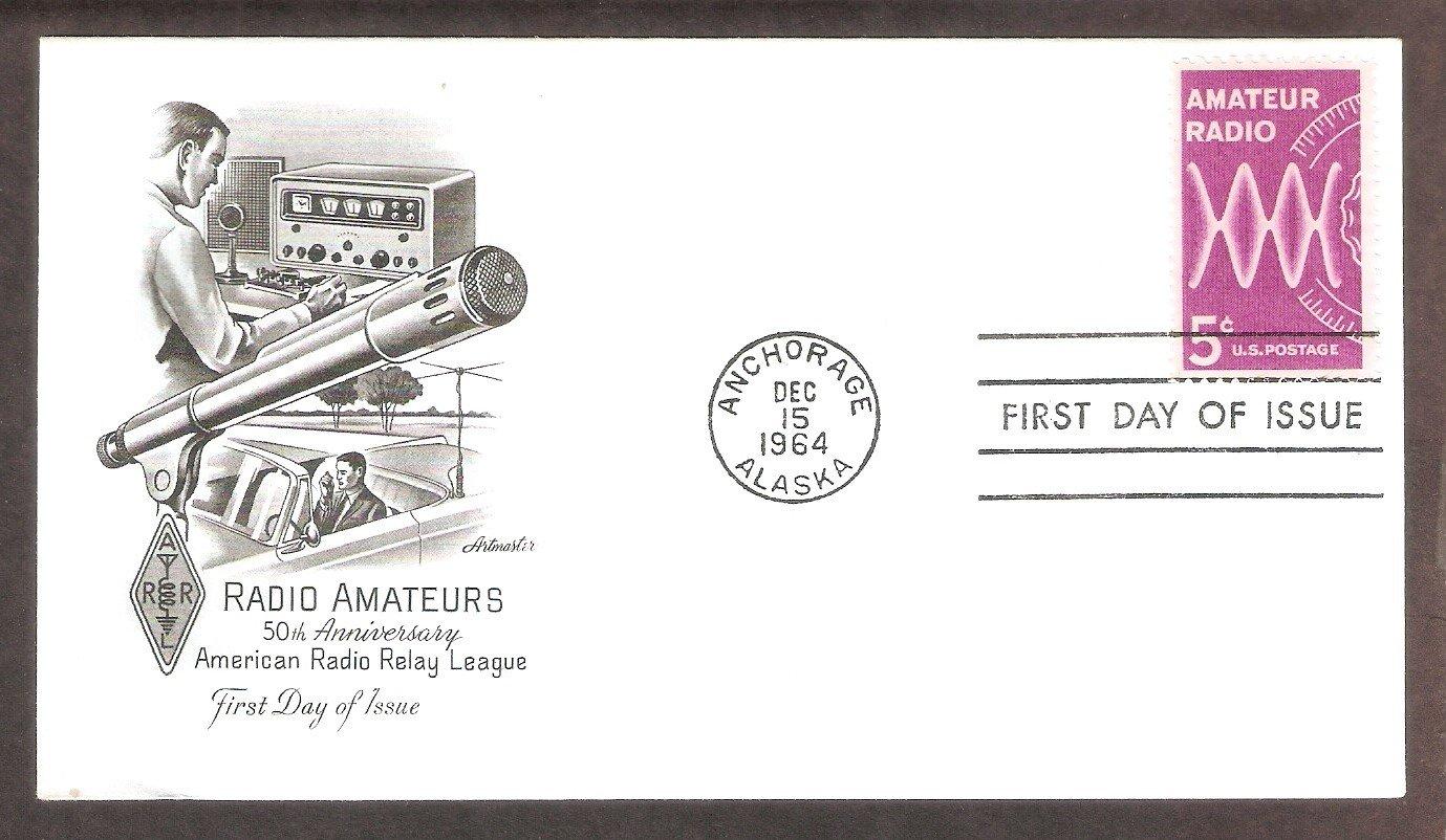 Amateur Radio Relay League, Anchorage, Alaska 1964, AM, First Issue USA