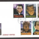 Classic Movie Monsters Frankenstein, Wolf Man, Phantom of the Opera, Dracula, Mummy, First Issue