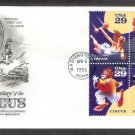 200th Anniversary of the First Circus Performance in America, AC, First Issue USA